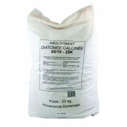 ABSORBANT TERRE DE DIATOMEE - Palette de 50 sacs de 20KG/40L